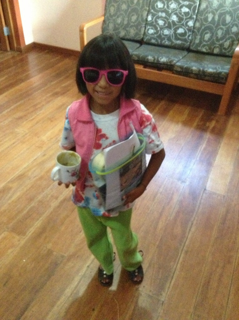 Isaura being all cool B-)